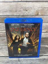 New listing Inferno (Blu-ray Disc, 2017) Tom Hanks Felicity Jones Da Vinci Code Series Vg