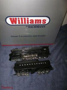 Williams Bachmann 40498 681Pennsylvania 6-8-6 Turbine S-2 Locomotive & Tender