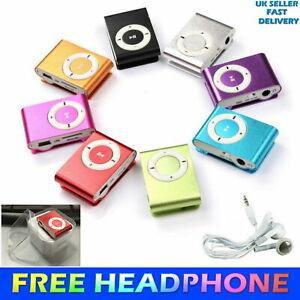 Micro SD MP3 Player Portable Mini MP3 Player Clip USB Music Play Micro SD Card