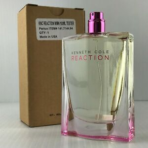 KENNETH COLE REACTION  WOMEN 3.4 OZ 100 ML EDP SPRAY NEW TESTER