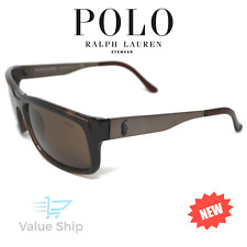 POLO RALPH LAUREN Translucent Brown Sunglasses PH 4059 5175/73 Italy