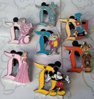 Disneyland D 2019 Hidden Mickey Set DLR Wave C Choose a Disney Pin