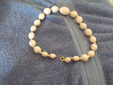 """8"""" White Beaded Necklace"""