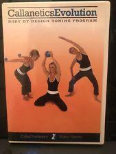 Callanetics Evolution (DVD) Callan Pinckney Sandra Hanna Fitness DVD