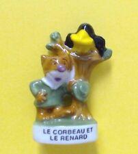 1 FEVE BRILLANTE > LE CORBEAU ET LE RENARD .. FABLE DE LA FONTAINE