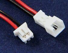 Connecteur micro JST male + femelle avec fils /Micro JST connector Male + female