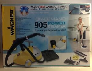 Wagner 905 On-Demand Power Steamer Car Detail & Home Use Disinfect & Clean