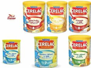 Nestle Cerelac Infant With Milk-400G/1KG, Mixed Fruits,Honey & Wheat
