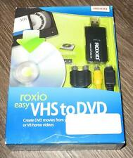 Roxio Easy VHS to DVD Software Brand New Sealed