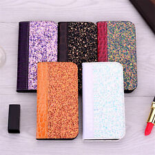 Leather Flip Stand Card Wallet Case Cover For iPhone X XR XS Max 7 8 6 6s Plus