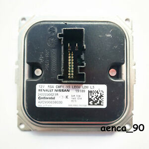 OEM for Renault Nissan Continental Headlight Led Module 260556623R LECU LDM L3