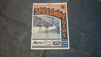 OLD MOTOR RACING MOTORCYCLE MAGAZINE, SPEEDWAY NEWS 1948 JULY 29