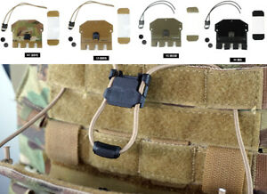 Quick Release Elastic Phone Holder Panel Plate for Molle / FCSK Tactical Vest