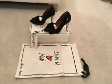 Lanvin H&M Court Shoes With Bow In Black UK Size 3 (36)