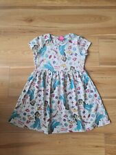 Girls BNWOT MATALAN Princess Jasmine printed dress aged 6 years