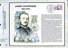 DOCUMENT CEF PREMIER JOUR 1982  TIMBRE N° 2229 ANDRE CHANTEMESSE MEDECIN