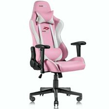 Ergonomic Computer Gaming Chair Racing Style Recliner Swivel Office Chairpink