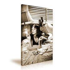 Mia Wallace Pulp Fiction Película Clásico Impresión de lona pared arte Foto 50cmx76cm