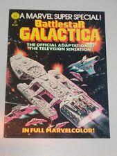 MARVEL SUPER SPECIAL #8 BATTLESTAR GALACTICA 1978 MARVEL US MAGAZINE<