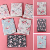 Travel Passport Cover Floral ID Card Cover Holder Protector Wallet Waterproof