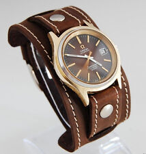 WATCH BAND GENUINE LEATHER STRAP CUFF BRACELET Nathan Drake Cosplay Style 2 20mm
