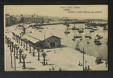 2264.-CADIZ -Aduana y vista parcial del Puerto
