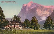 GRINDELWALD – Chalet mit Wetterhorn – Switzerland