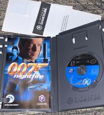 007: NightFire (Nintendo GameCube, 2002) Complete CIB Fast 🛳