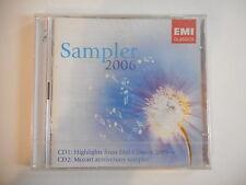 EMI SAMPLER 2006 ( 2 CD ) : MOZART ANNIVERSARY - [ PROMO NEUF ] --  PORT GRATUIT