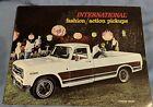 International Harvester 1971 ? Pickup Custom Dealer Brochure Fashion Action