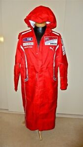 2011 Ducati Motogp Team Issue Wind / Rain Jacket Valentino Rossi / Nicky Hayden