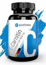 L-Carnitin Gewichtsverlust 120 Kapseln Diät Vegan 3000mg Tagesportion