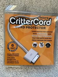 NIB ~ CritterCord Micro Cord Protector 6ft.
