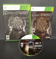 Game of Thrones - Atlus  - Microsoft Xbox 360 Rare Game Complete  Tested