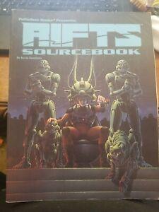 Rifts Sourcebook Number 1 Palladium Books