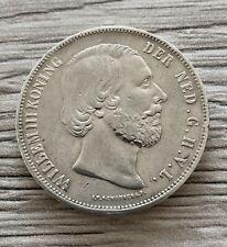 Niederlande - 2,5 Gulden König Wilhelm III 1858