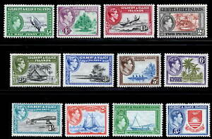Gilbert & Ellice Islands 1939 MNH/MH set SG 43/54