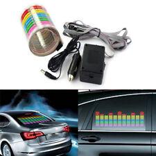 Car window music rhythm atmosphere light Sticker Sound Activated Equalizer Lamp