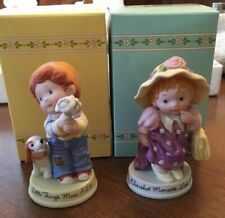 1983 Avon Cherished Moments Last Forever And Little Things Mean A lot Figurines