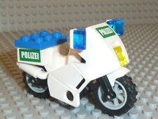 LEGO® City 1x Motorrad Polizei weiß für Figuren aus Set 7235 7237 #586