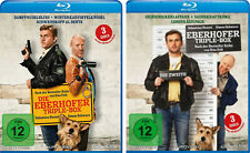 6 Blu-rays * DIE EBERHOFER TRIPLE BOX 1+2 IM SET INKL. LEBERKÄSJUNKIE # NEU OVP%