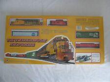 Mehano HO Thunderbolt express w/ Pillsbury & Green Giant Reefer Box Cars #T340