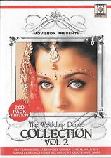 THE WEDDING DANCE COLLECTION VOL 2 - BRAND NEW BOLLYWOOD 2CDs SET - FREE UK POST