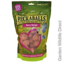 Suet To Go Peckaballs Berry Recipe / Fat Balls for Wild Birds