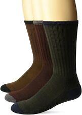Wigwam Men's 179441 Range Midweight Outdoor Crew Socks 3-Pack Size L