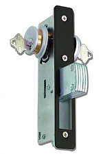 Global Door Controls 1-1/8 in. Mortise Lock Body with Deadbolt Function in Dur..