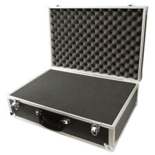 Large Carry Flight Case Foam Padded Protection Secure Storage Box 570x380x190mm