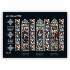 GREAT BRITIAN 2020 Christmas 2020 STAMP SHEET (3-11)