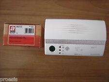 AVE RG1-G rivelatore gas GPL parete bianco 230V allarme test LED