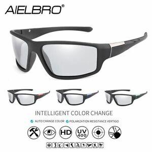 Photochromic Cycling Sunglasses For Men Women Sport Goggles MTB Road Bike